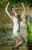 "Silk Vintage Lingerie Teddy ""Grace"" by Ayten Gasson"